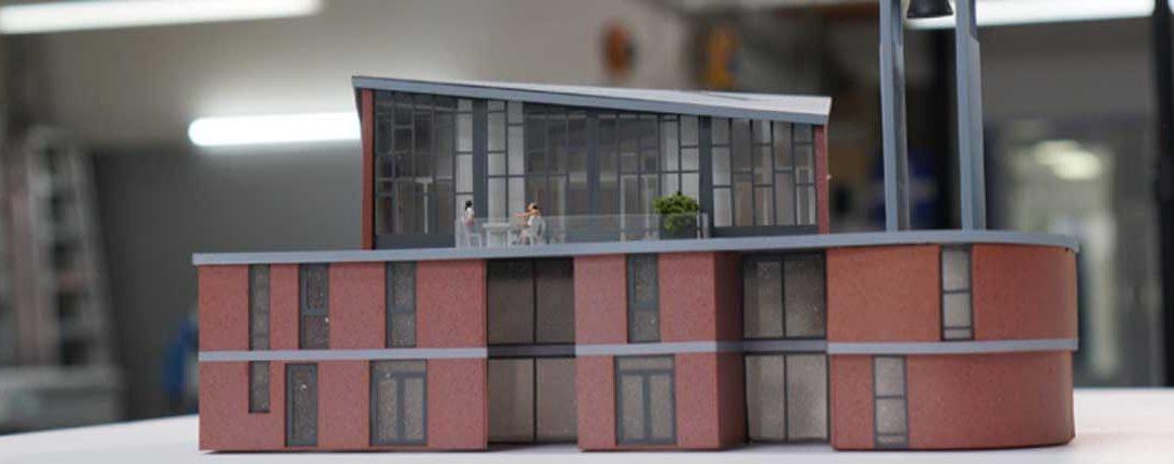 Spaaij Maquettebouw zeigt, wie Lasermaschinen in der Architektur eingesetzt werden